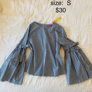 Other - Striped long sleeved top